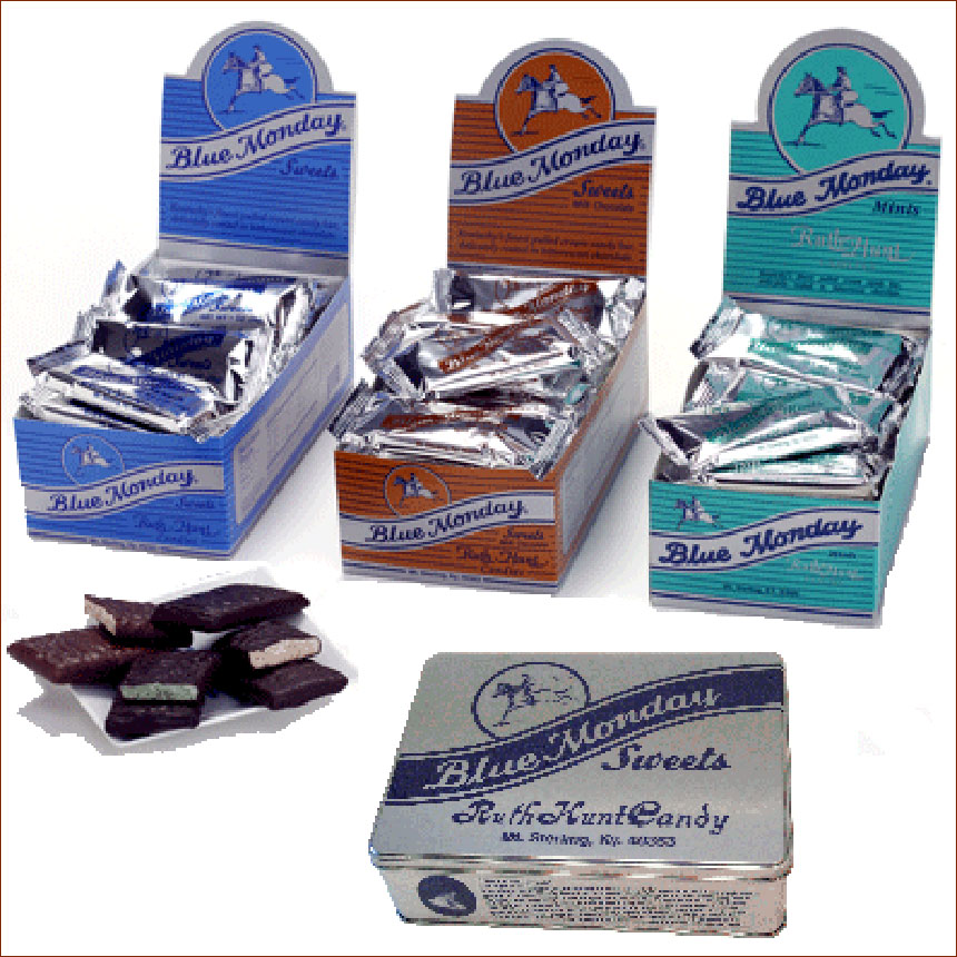 Blue Monday® Tins, 24ct Bars - Mixed Flavors