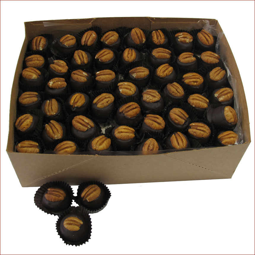 Ruth Hunt Bourbon Balls  - 5 lb. Bulk in Kraft Box