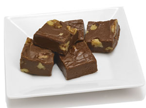 Bourbon Walnut Fudge