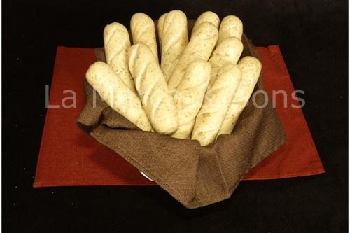 Case Bread Sticks White (C389) - P