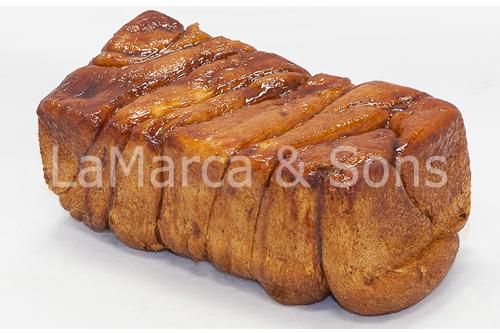 FireKing Cinnamon Bread w/Labels -FI
