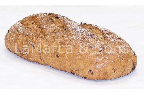 3 lb Raisin Oval UNSLICED - FI