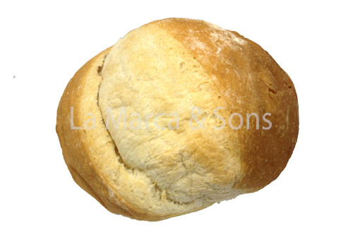 Portuguese Round Bread Sliced-EC