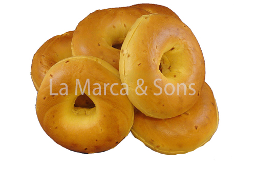 PKG. 4oz Onion Bagels Sl (6pk)-EB