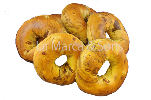 PKG. 4oz FrenchToast Bagels Sl (6pk)-EB