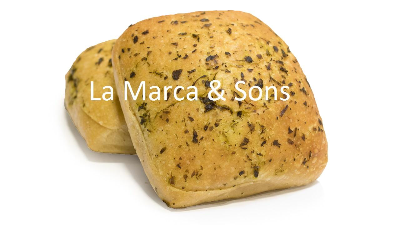 Focaccia Squares Herb SLICED Dz-FI