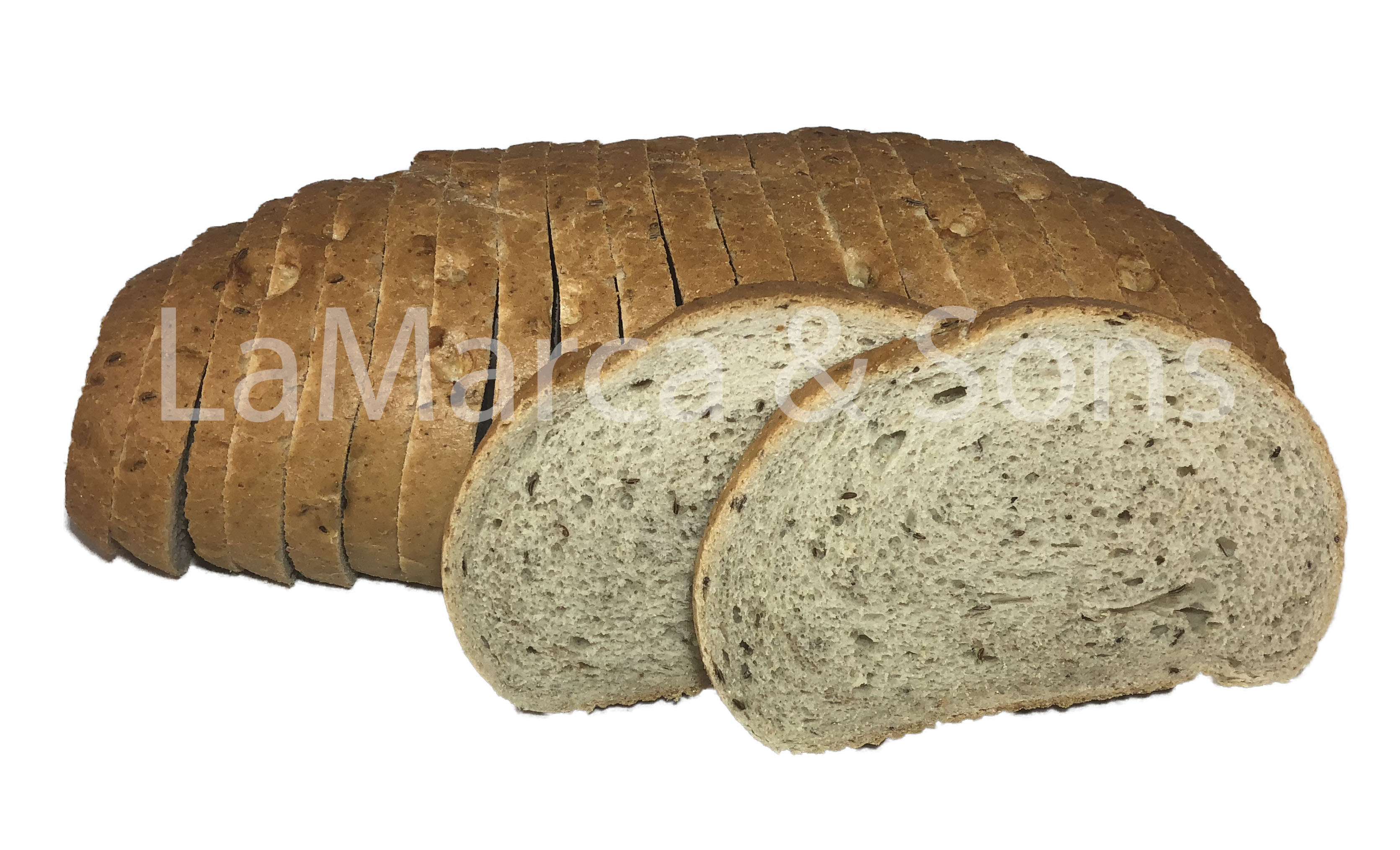 2.5 lb. Light Rye Oval-P