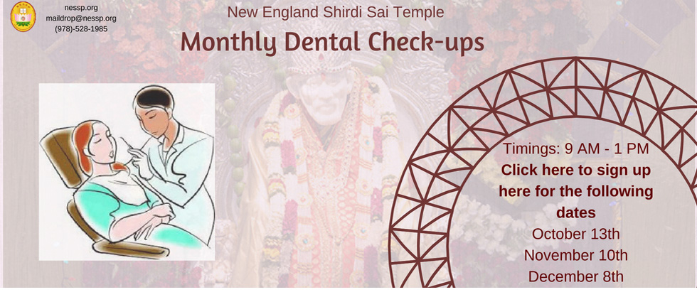 Monthly Free Dental Checkups