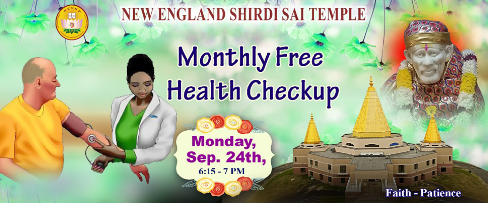 Monthly Free Medical Checkups