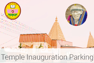 Temple Inauguration Parking