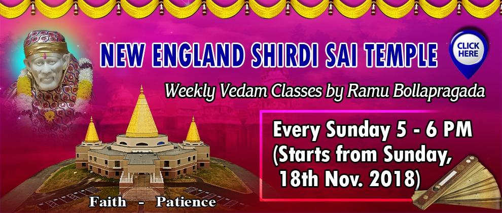 Vedam Class Nov 18th 2018