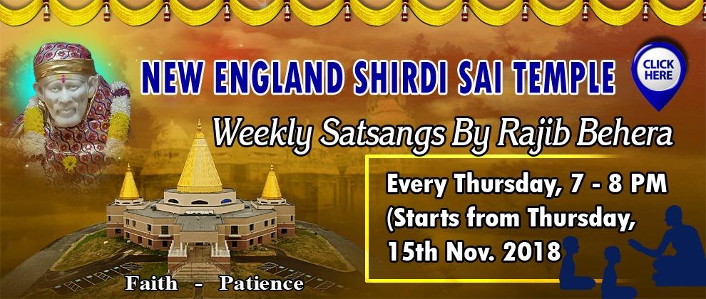 Satsang Nov 15th 2018