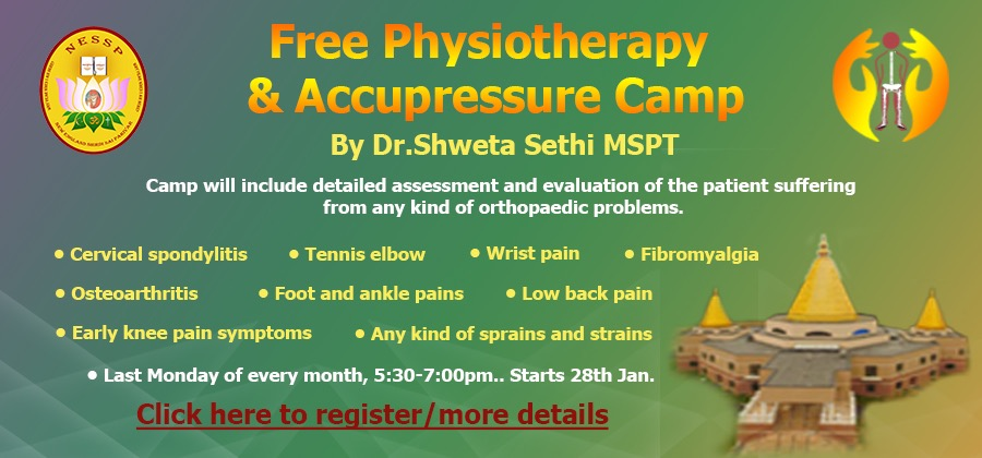 Physiotherapy Accupressure Camp
