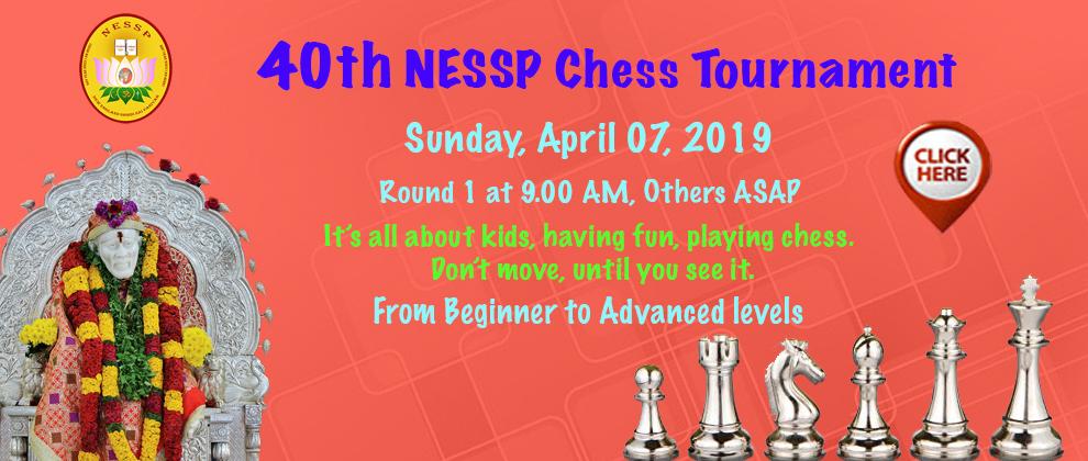 40th NESSP Chess Tournament
