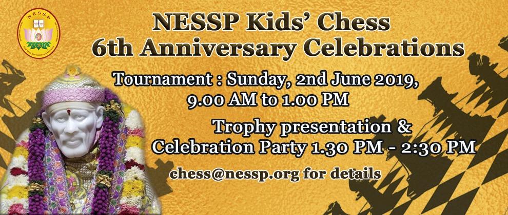 NESSP Kids Chess 6th Anniversary Celebrations