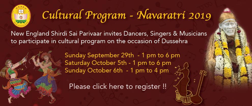Cultural Events Navratri
