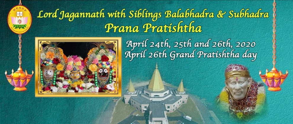Lord Jagannath Prana Pratishtha