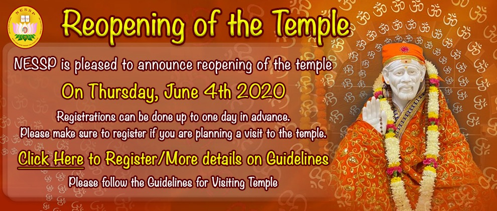 Reopening of Temple