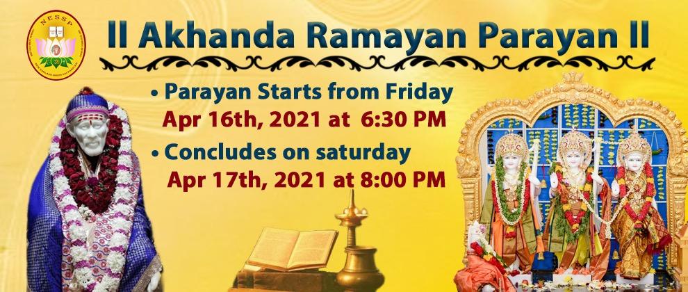 Akhanda Ramayan Parayan