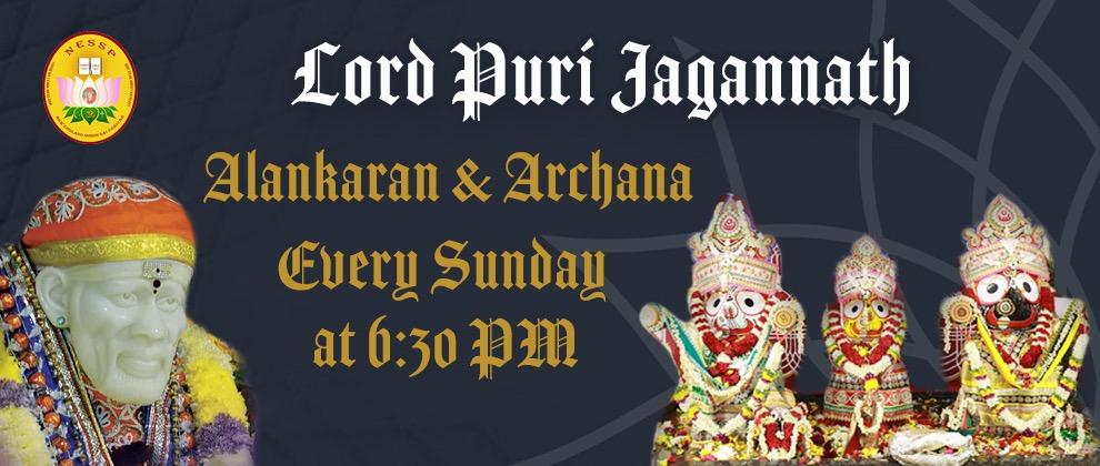 Lord Puri Jagannath Alankaran