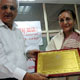 Dr. Sudha Kaul and Sunil Razdan felicitated