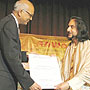 Pandit Bhajan Sopori awarded 'RAWA Samman'
