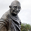 Mahatma Gandhi arrives in South Florida