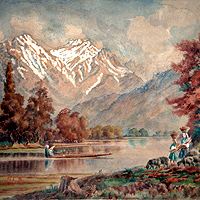 Kashmir - Vintage Images and Paintings