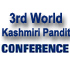 3rd World Kashmiri Pandit Conference