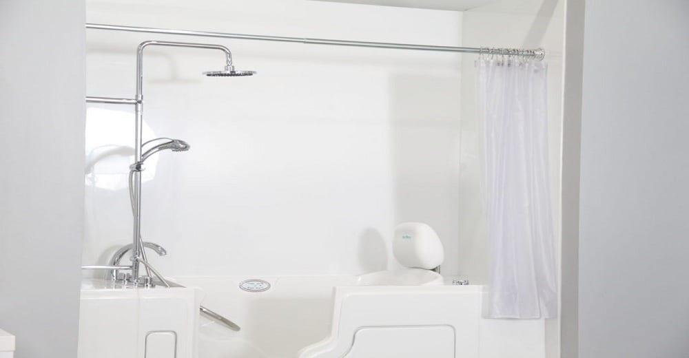 the pros of installing a shower tub combo safe step tubs. Black Bedroom Furniture Sets. Home Design Ideas