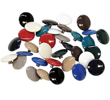 Enameled Button & Socket