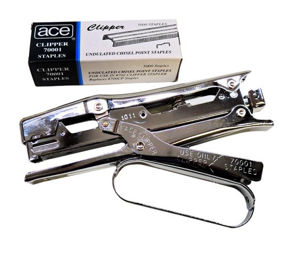 Ace Clipper Stapler