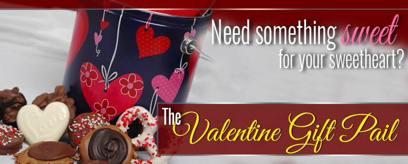 The Valentine Gift Pail: A perfect Valentine's Day gift for your loved one