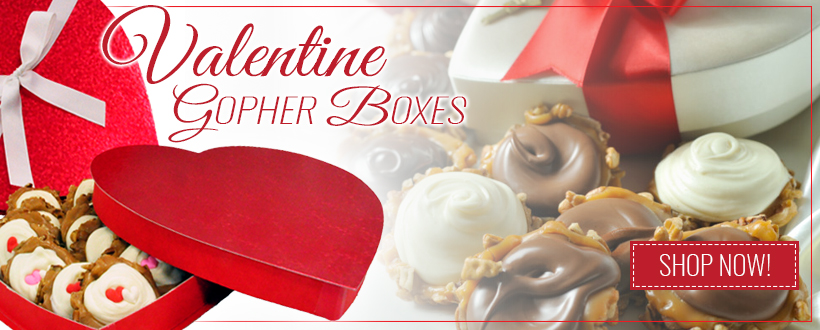 Valentines Gopher Gift Boxes