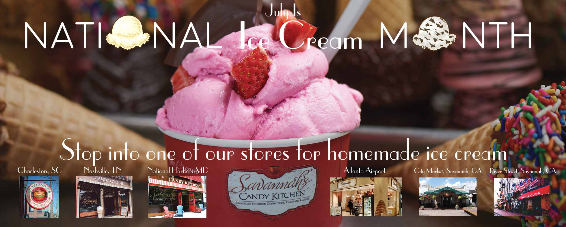 It's National Ice Cream Month!