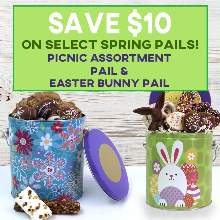 Spring Candy Pails