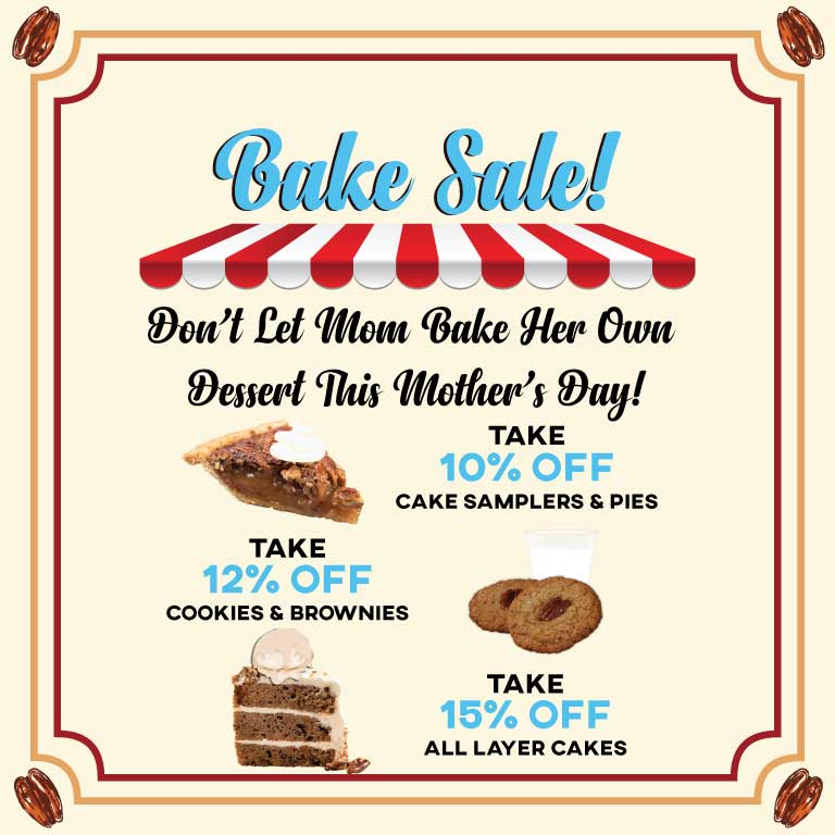 Mother's Day Bake Sale