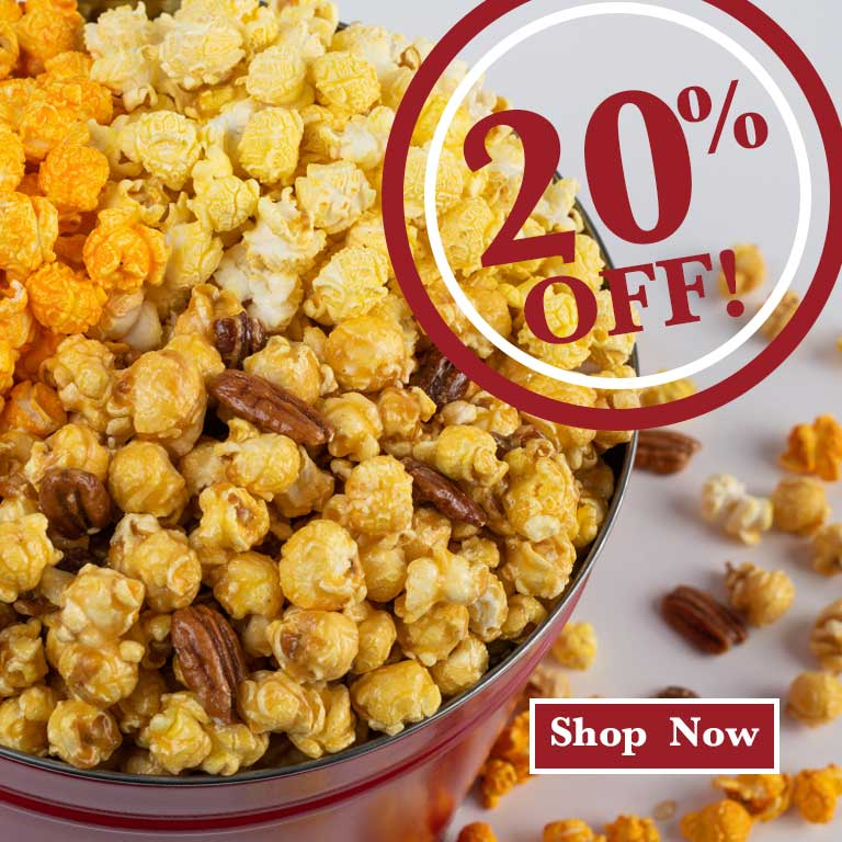 Buy Gourmet Caramel Candy Popcorn Sweet Candy Gifts 20% Off Online