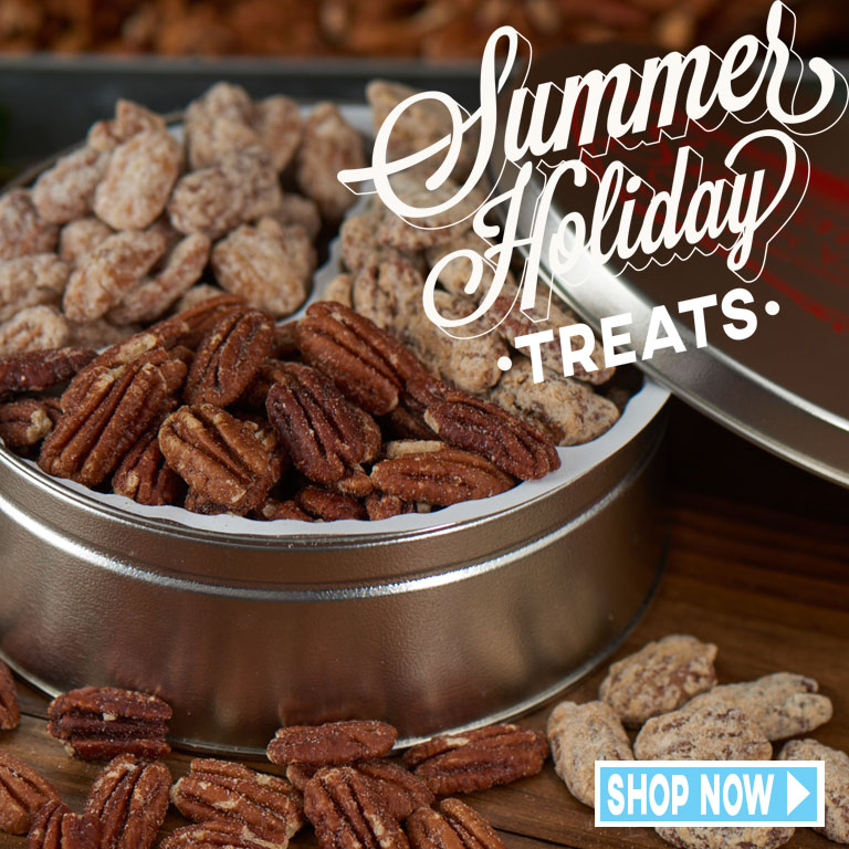 Shop Now for Summertime Candied Nuts!