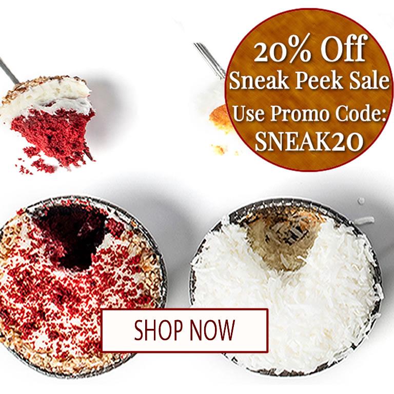 20% off Sneak Peak Sale!