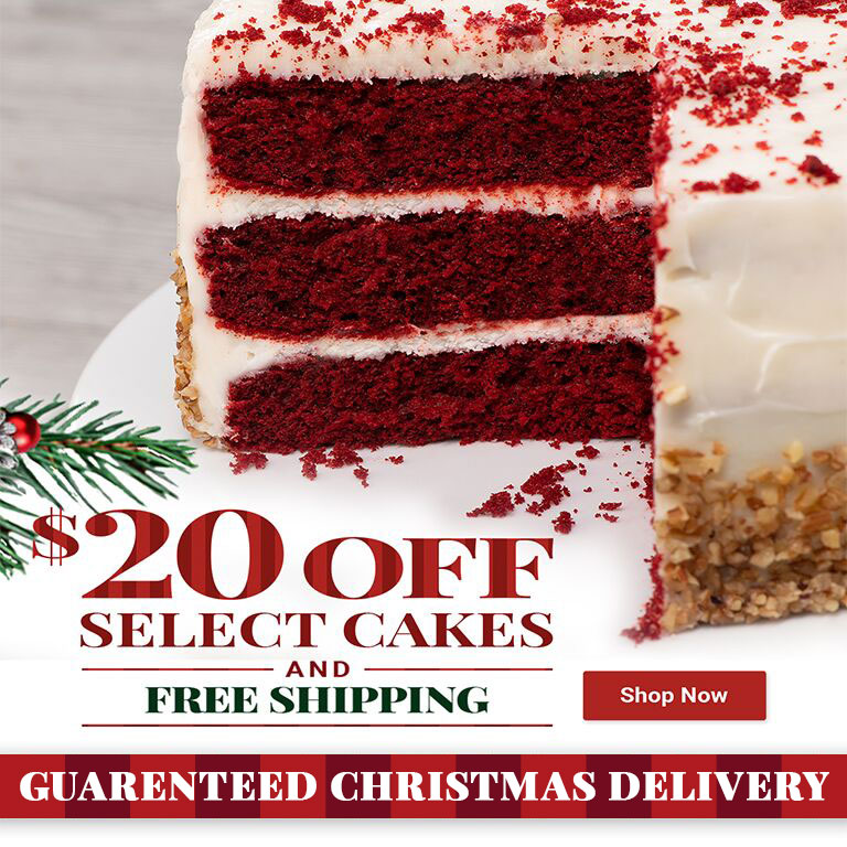 $20 Off Select Layer Cakes!