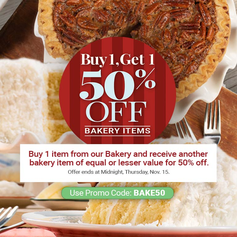 Bakery BOGO Deals!