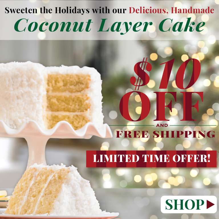 Coconut Layer Cake 10 Dollars Off