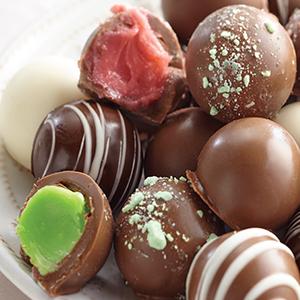 Handmade Chocolate Truffles -24 pcs - 2 Pack