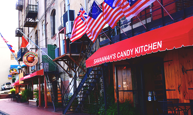 Savannah's Candy Kitchen, Savannah Georgia