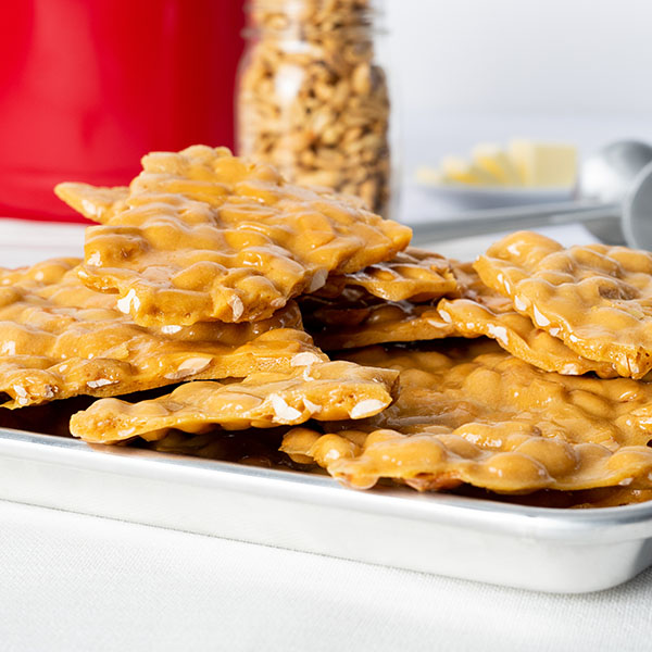 BOGO Peanut Brittle Gift Tin 2 Pack for the Price of One!