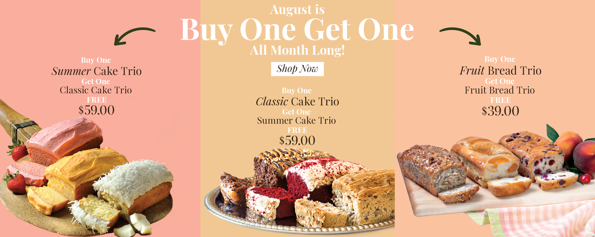 Buy One Get One On Select Items!