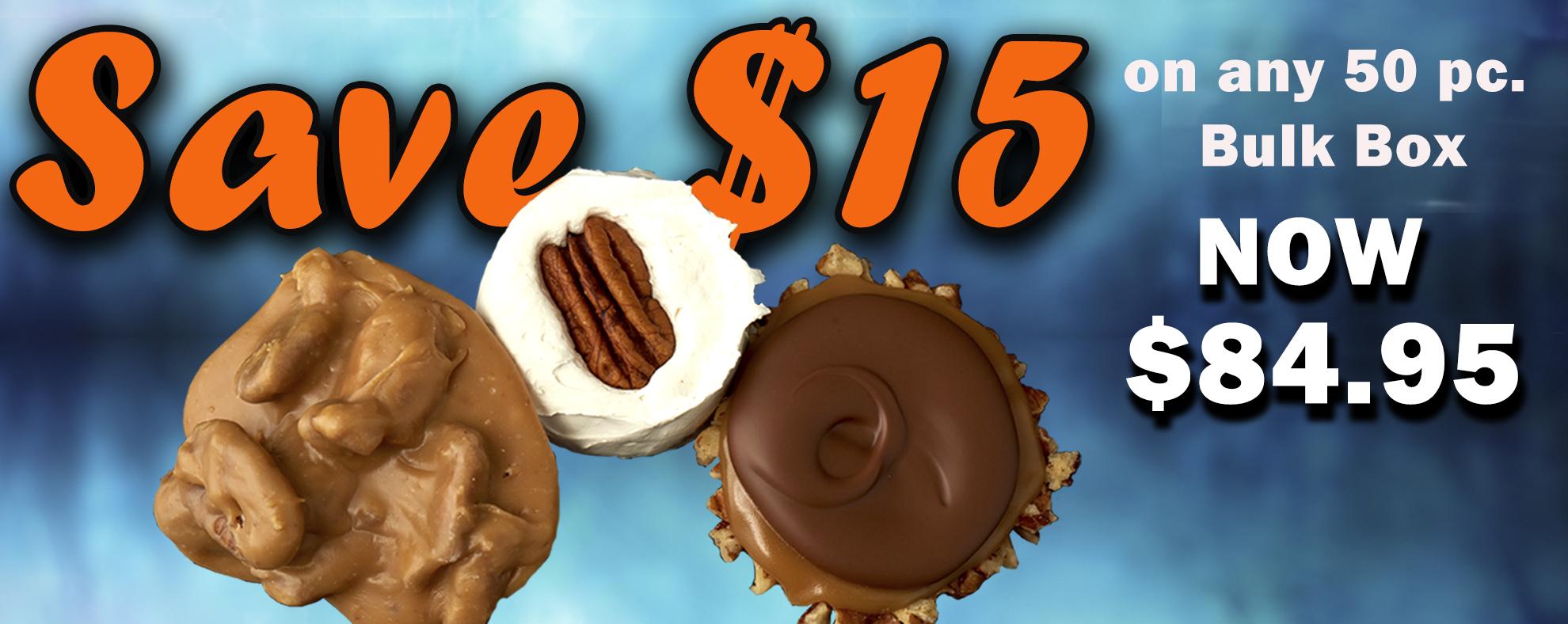 $15 Off Bulk Candy Deals