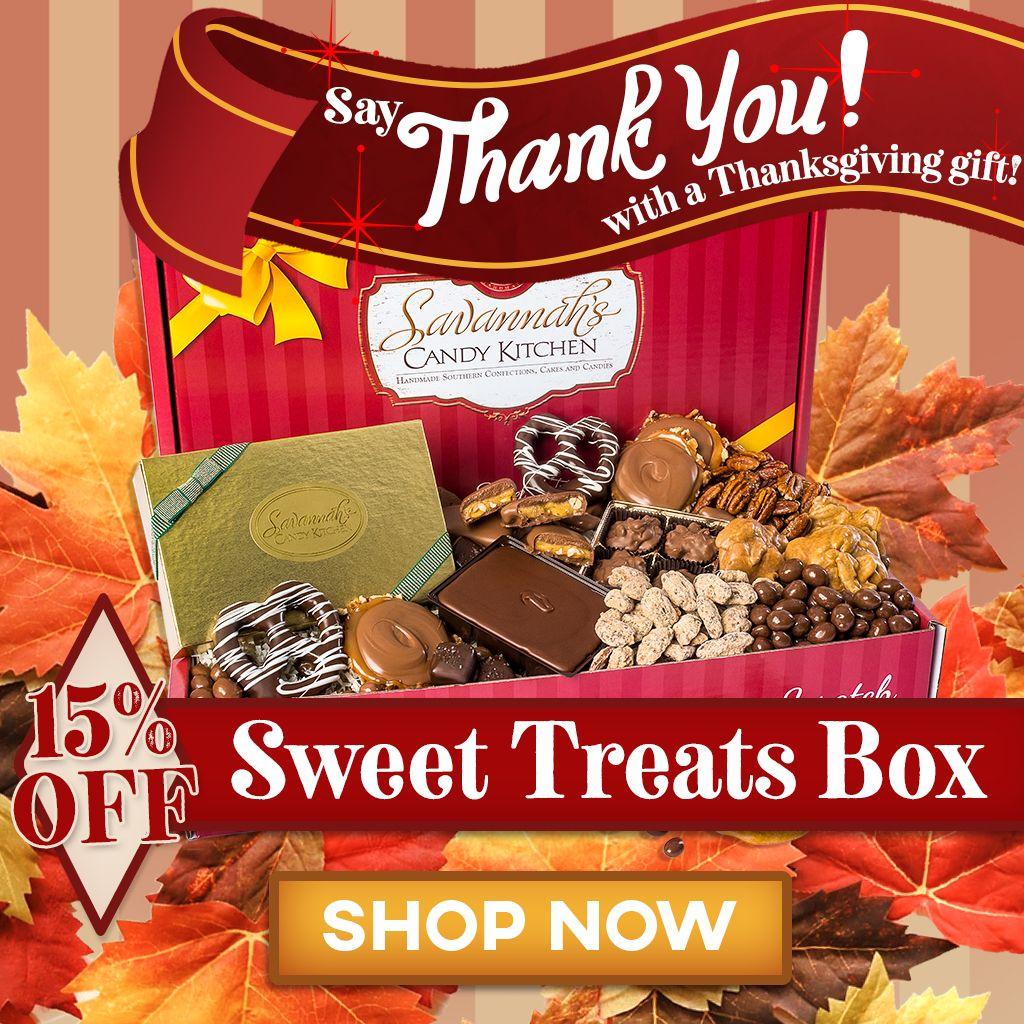 15% Off Sweet Treats Box