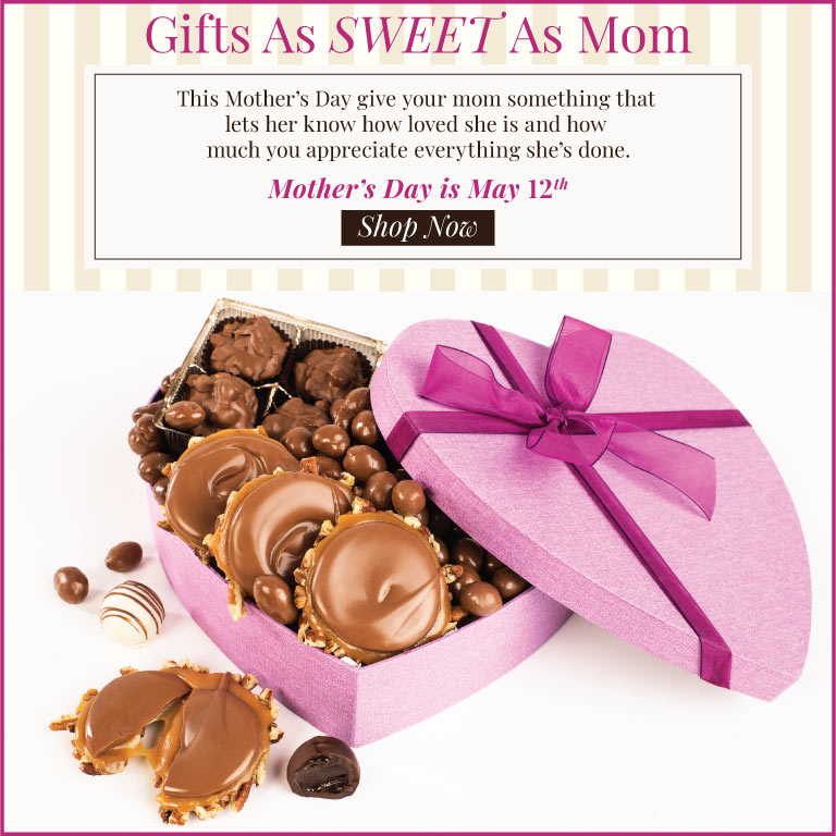 Mother's Day is May 12th!